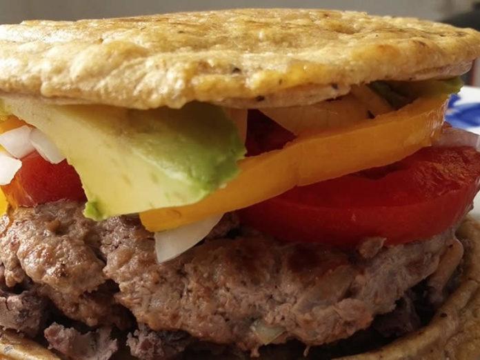 hamburguesa a la mexicana